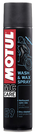 MC CARE ™ E9 WASH & WAX SPRAY - Trockenreiniger 400 ml