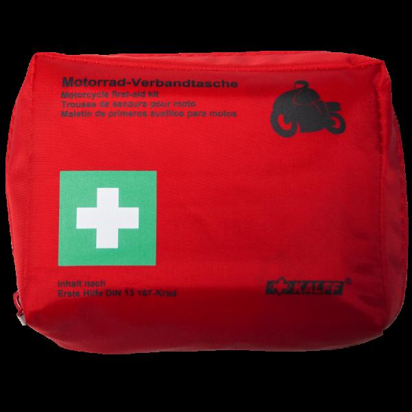 Motorrad Verbandtasche rot (DIN 13167)