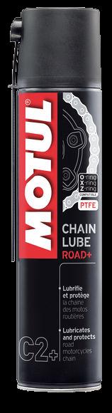 C2+ CHAIN LUBE ROAD PLUS - Kettenspray 400 ml