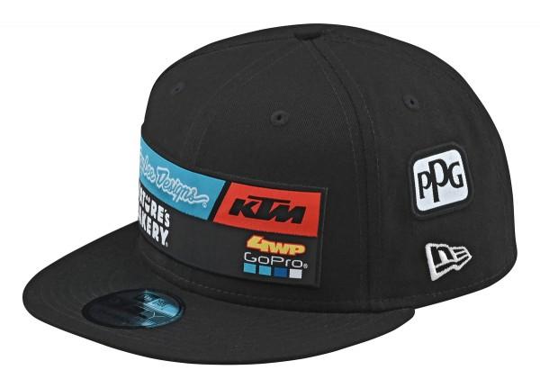 TLD TEAM HAT BLACK