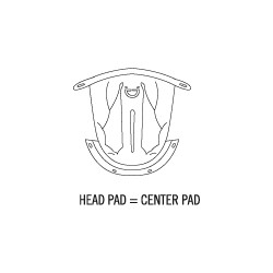 C4 Head Pad XS / 53