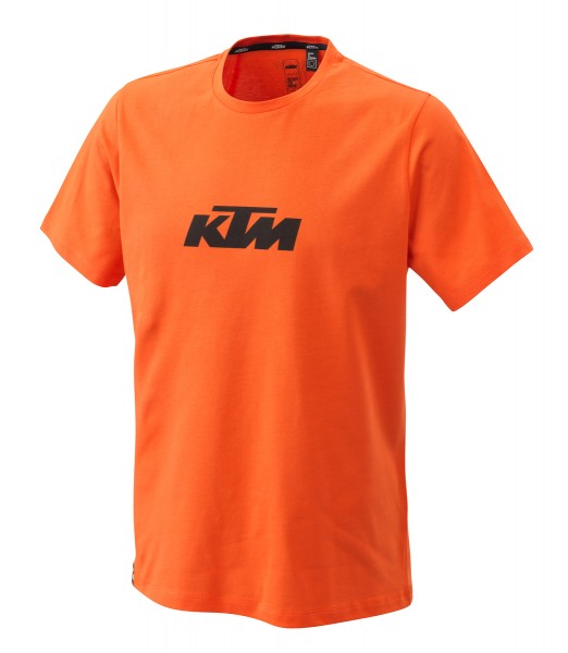 PURE LOGO TEE ORANGE