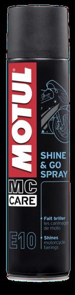 MC CARE™ E10 SHINE & GO SPRAY - Silikon Reiniger 400 ml